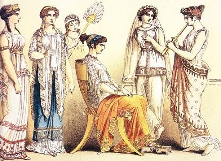Phụ nữ quý tộc ở Hy Lạp cổ đại