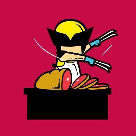 Người Sói Wolverine trở thành anh hàng thịt.