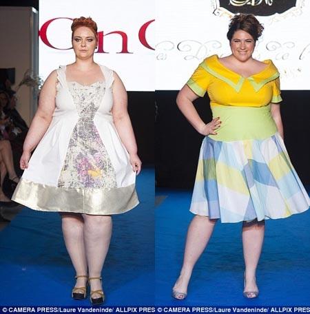Tuần lễ Thời trang Hè Size lớn 2015 được tổ chức ở Sao Paulo, Brazil năm ngoái.