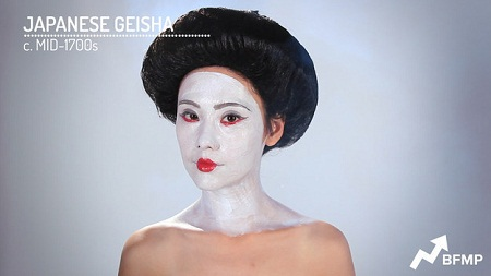 Các geisha của Nhật