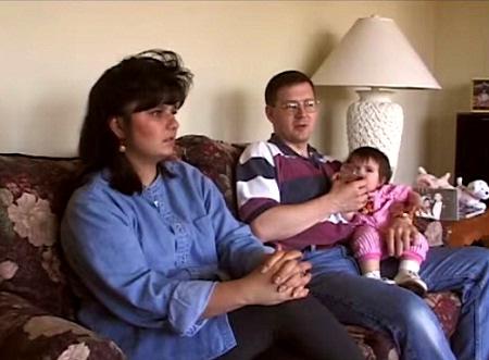 Heidi và mẹ nuôi người Mỹ