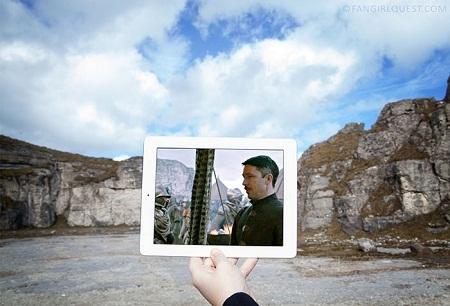 """Cảnh trong """"Game Of Thrones"""" quay ở mỏ đá Larrybane, Bắc Ireland."""