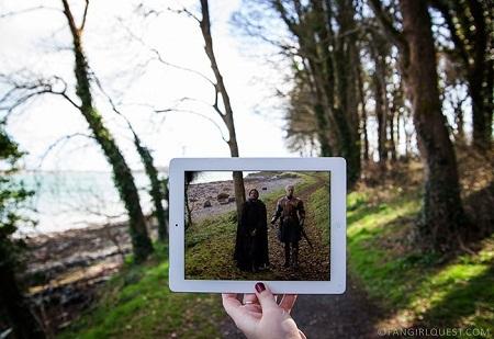 """Cảnh trong """"Game Of Thrones"""" quay ở lâu đài Ward, Bắc Ireland."""