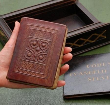 Cuốn sách phúc âm Thánh Cuthbert