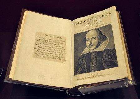 Cuốn Hài kịch, Lịch sử và Bi kịch của William Shakespeare