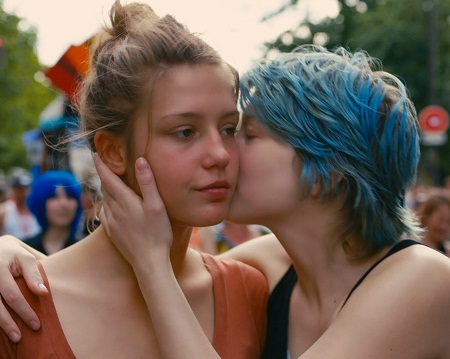"""Cảnh trong phim """"Blue Is The Warmest Color"""""""