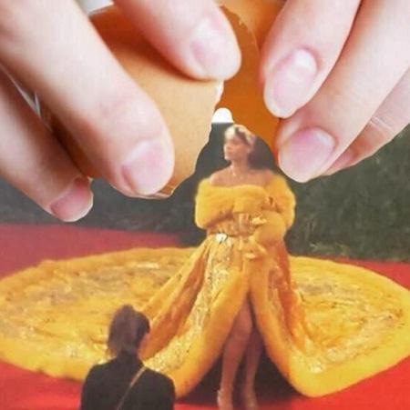 Rihanna hay… lòng đỏ trứng gà?