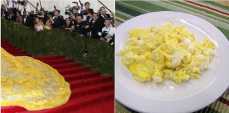Điểm chung với… trứng chưng?