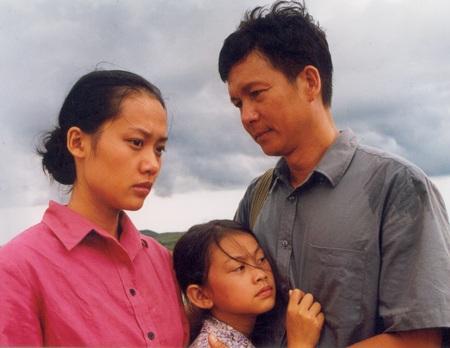 Hồng Ánh trong phim Đời cát của đạo diễn Thanh Vân