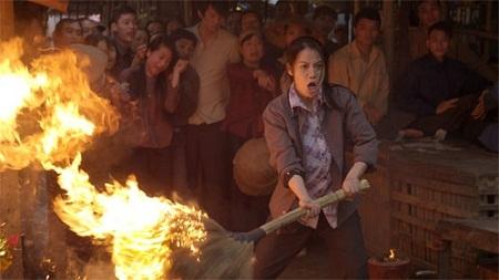 Trương Ngọc Ánh trong quá trình làm Hương ga với Cường Ngô