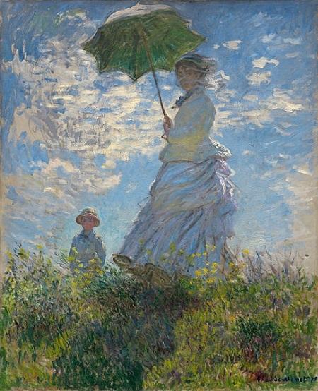 Người phụ nữ và chiếc ô che nắng (1875)