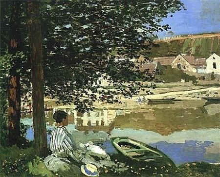 Bên bờ sông Seine (1868)