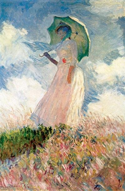 Người phụ nữ và chiếc ô che nắng (1886)