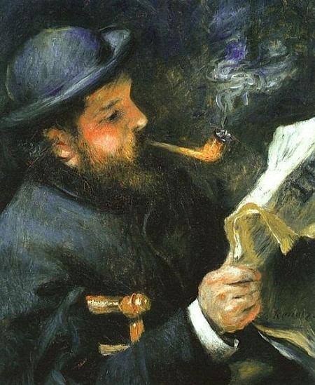 Chân dung Claude Monet (1872)