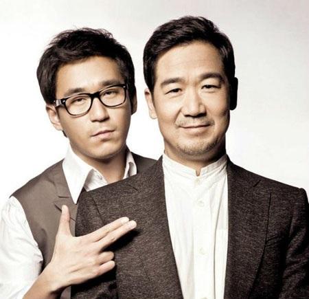 Trương Quốc Lập và con trai Trương Mặc