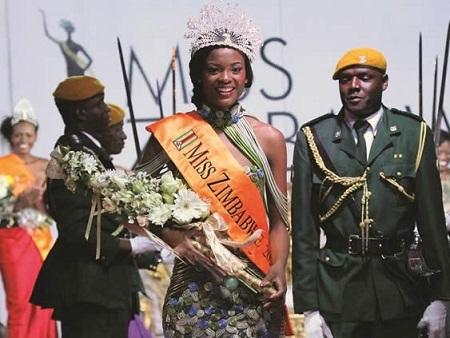 Hoa hậu Zimbabwe 2014 cũng từng bị truất ngôi vì cùng lý do