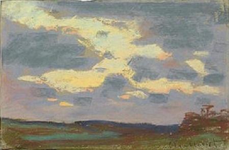 Hai bức tranh phấn màu khác của Monet mà nhà sưu tầm Jonathan Green đã mua.
