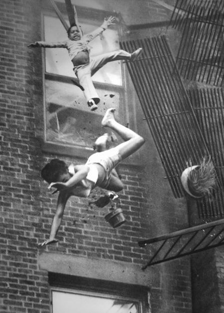 """Bức """"Hỏa hoạn trên phố Marlborough"""" chụp năm 1975 bởi nhiếp ảnh gia Stanley Forman"""