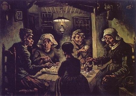 """Danh họa người Hà Lan Vincent Van Gogh và bức """"Những người ăn khoai tây"""" (1885)"""