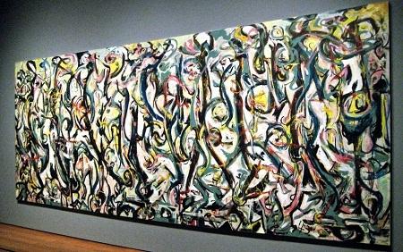 """Danh họa người Mỹ Jackson Pollock và bức """"Bích họa"""" (1943)"""