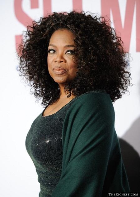 Người dẫn chương trình đối thoại truyền hình Oprah Winfrey