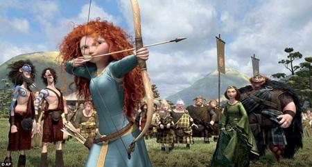 Những cảnh quan trong phim cũng được lấy cảm hứng từ thiên nhiên Scotland.