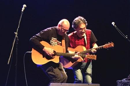 Masa Sunmide (Nhật Bản) và Jacques Stotzem (Bỉ)