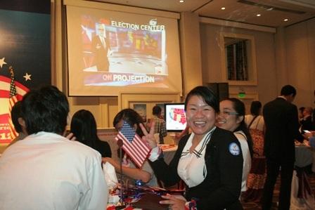 Hào hứng theo dõi diễn biến bầu cử