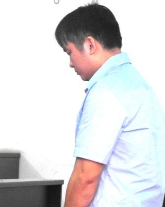 Bị cáo Hồ Văn Mỹ tại tòa