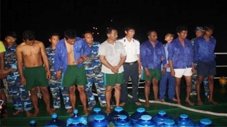 11 đối tượng cướp biển trên tàu ZAFIRAH bị bắt giữ