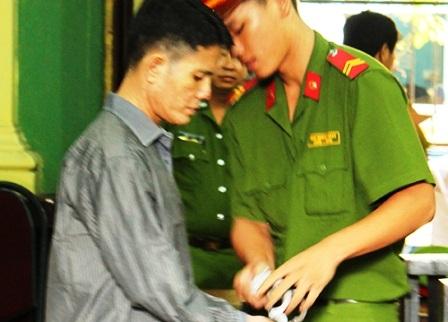 Bị cáo Trần Văn Phước tại tòa.