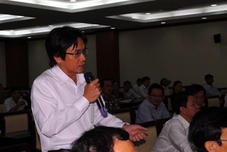 Các doanh nhân trải lòng với đoànđại biểu Quốc hộiTPHCM