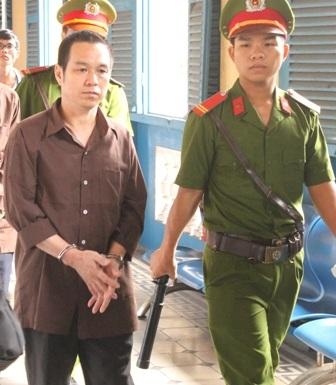 Bị cáo Nam tại tòa phúc thẩm