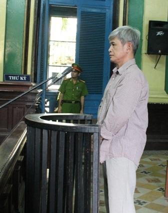 Bị cáo Vũ Mạnh Chung