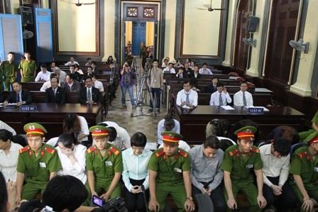 Các bị cáo lần lượt nộp đơn kháng cáo xin giảm nhẹ hình phạt