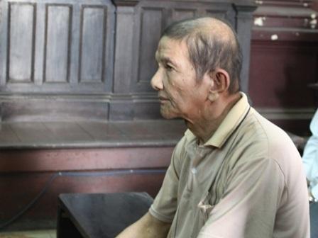 Bị cáo Lê Hoàng Minh tại tòa phúc thẩm