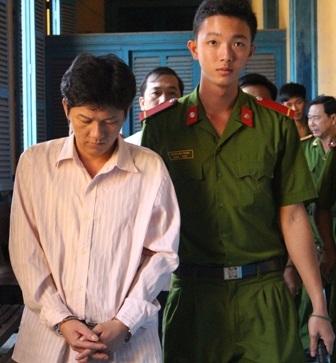 Bị cáo Trần Thanh Tâm tại tòa phúc thẩm