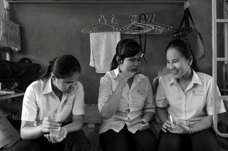 Cuộc sống thường nhật của học sinh trường phổ thông đặc biệt Nguyễn Đình Chiểu