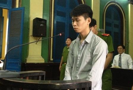Bị cáo Minh tại tòa