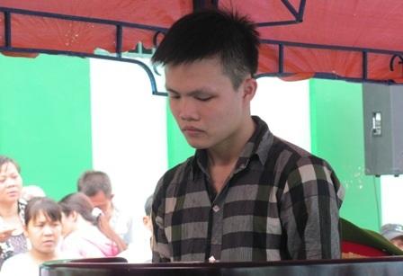 Bị cáo Nguyễn Minh Quân tại phiên tòa sơ thẩm