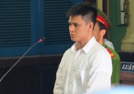 Bị cáo Vinh tại tòa