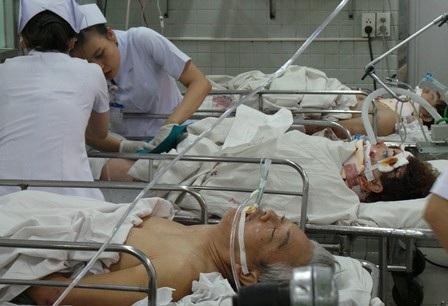 Những nạn nhân của vụ tai nạn