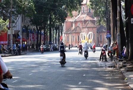 Đường Lê Lai, Phạm Ngọc Thạch cũng rộng thênh thang