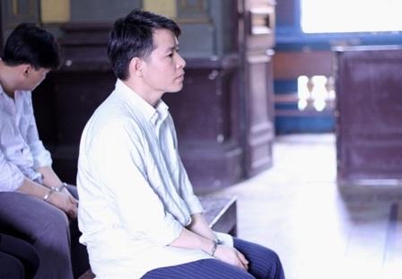 Bị cáo Tuấn tại tòa phúc thẩm