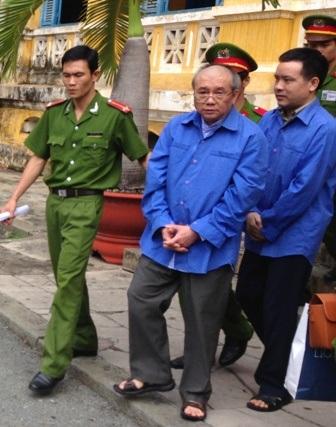 Bị cáo Đặng Văn Hai bị tòa sơ thẩm tuyên án tử hình nên kháng cáo