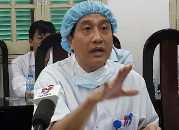 GS Sơn đánh giá ngành ghép tạng Việt Nam có những bước tiến dài. Tuy nhiên khó khăn nhất hiện nay là nguồn tạng hiến. Ảnh:H.Hải