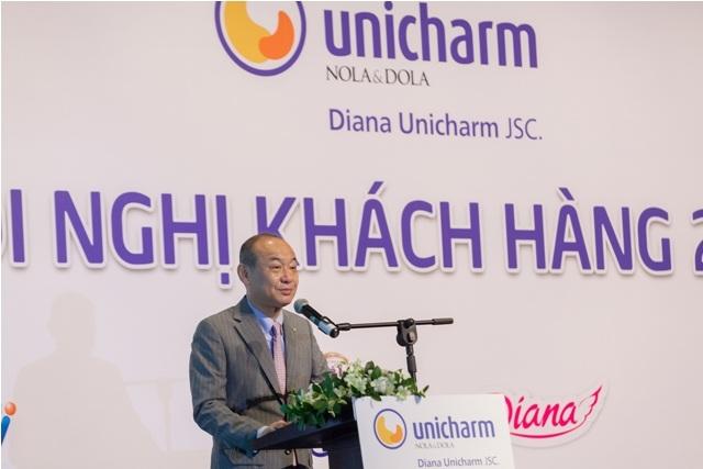 Phó Tổng Giám đốc công ty Diana Unicharm – Ông Asushi Iwata chia sẻ về tầm nhìn của công ty