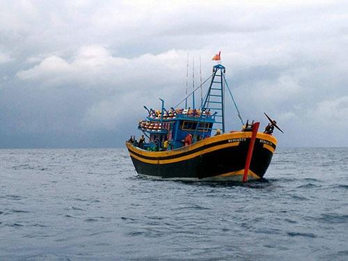 Phạt nặng 2 tàu giã cào ném thanh tra viên xuống biển - 1