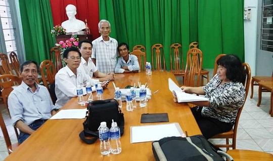 Buổi thương lượng bồi thường oan sai cho ông Huỳnh Văn Nén ngày 31/8.