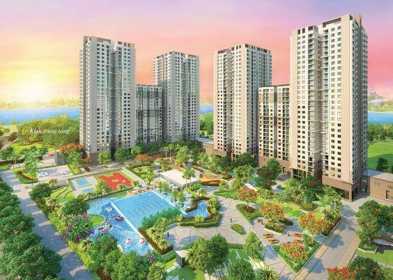 Thiết kế Cảnh quan cũng là yếu tố hút khách vì Saigon South Residences có diện tích khu đất rộng gần 33.000m2 nhưng diện tích đất dành cho xây dựng chỉ hơn 9.500m2, phần còn lại chiếm đến 69% diện tích khuôn viên là không gian xanh mở, công trình tiện ích